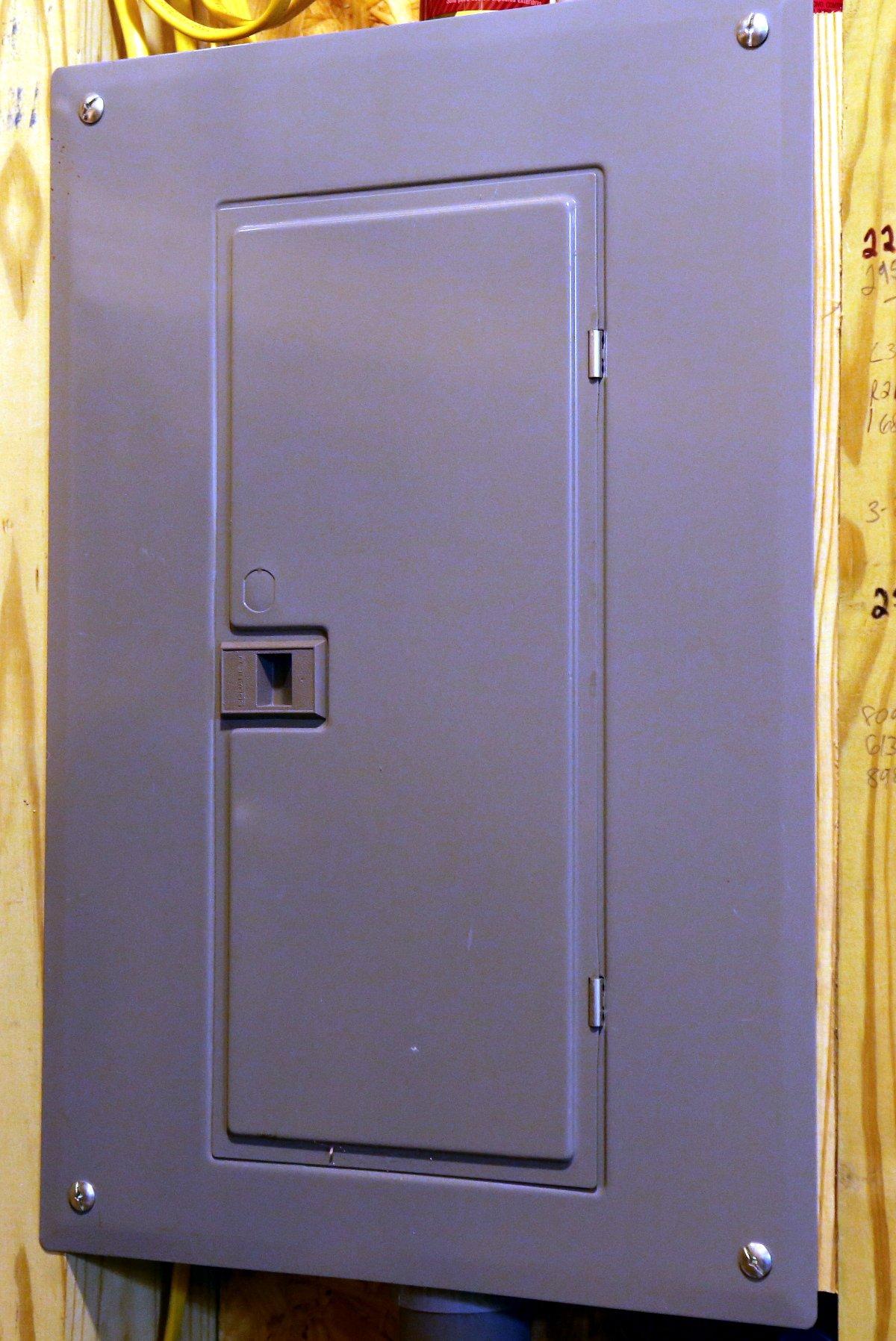 Schön Electrical Panel Galerie - Schaltplan Serie Circuit Collection ...