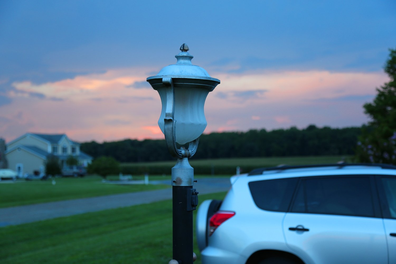 Post Lighting in Crofton