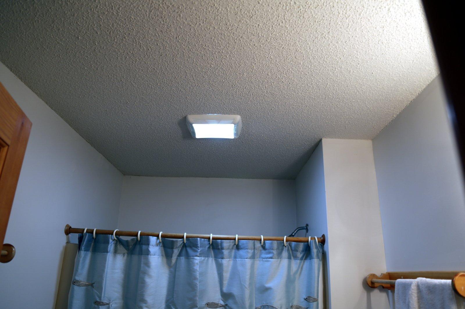Crofton Electrician for Bathroom light fan combo