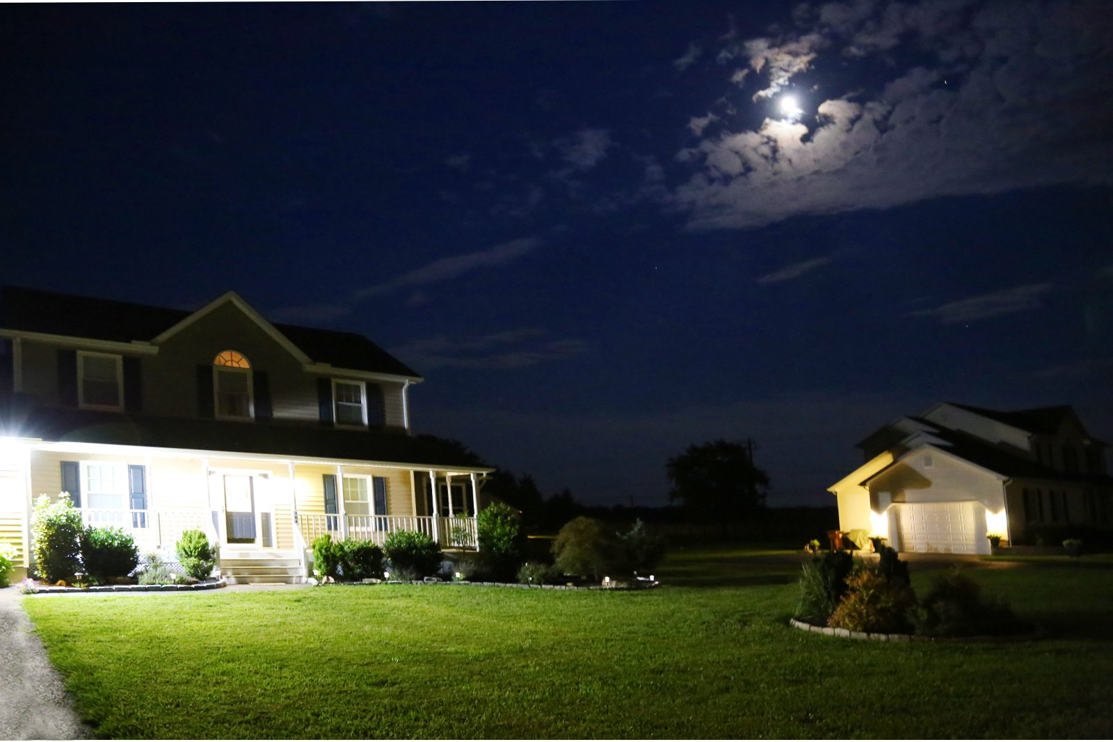 Crofton Electricians for outdoor lighting
