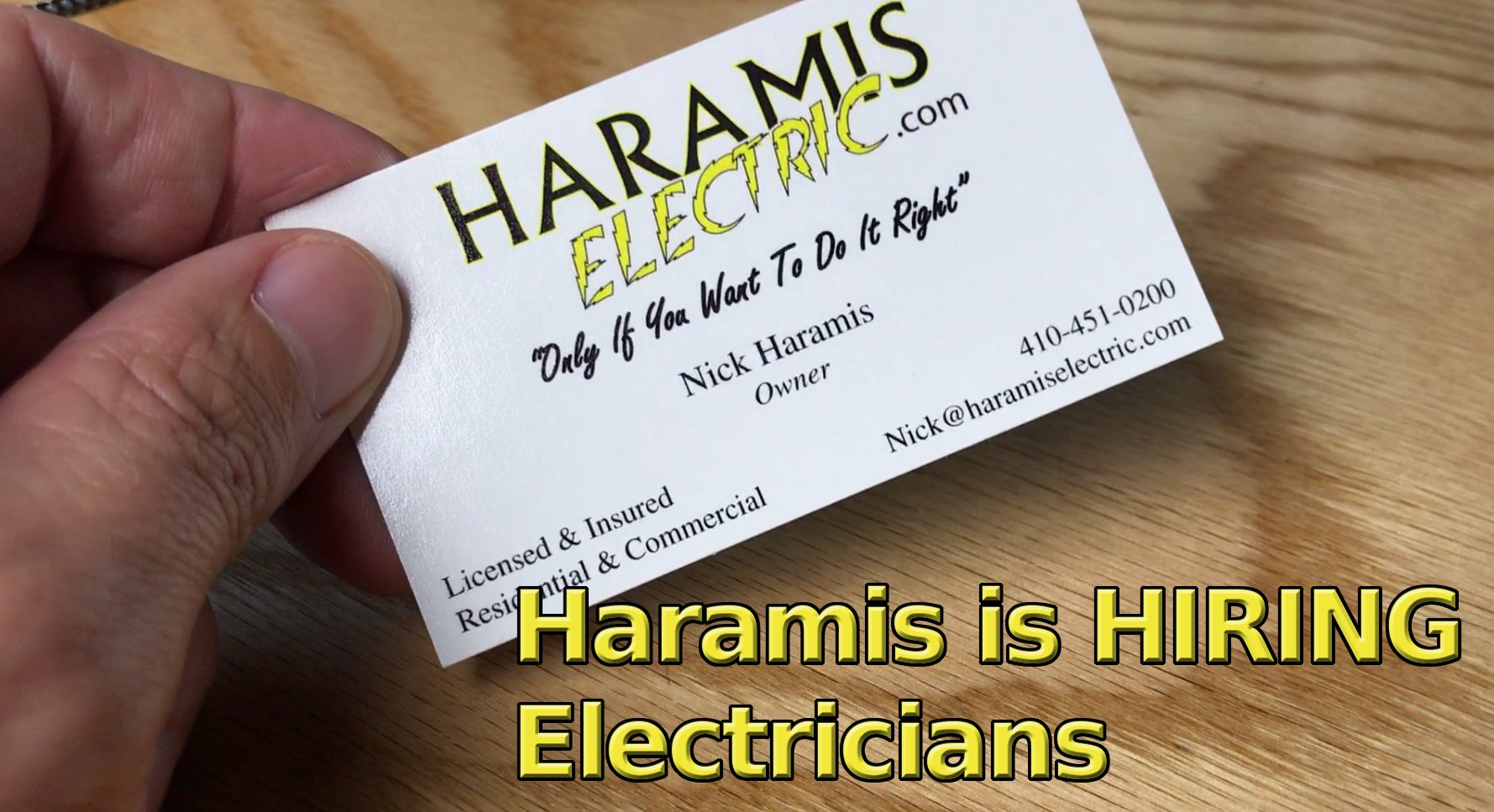 Hiring Linthicum Electricians Jobs