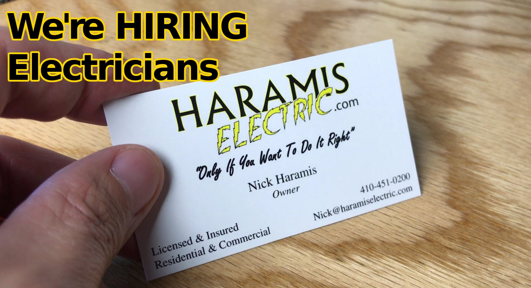 Hiring Severna Park electrician Jobs