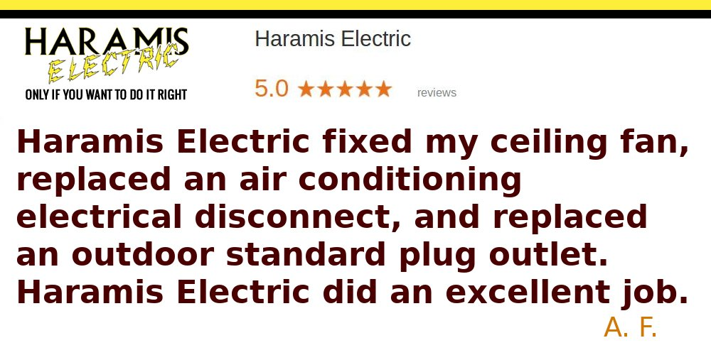 Reviews Electricians in Odenton Haramis