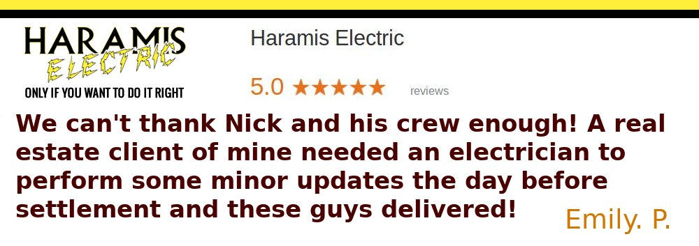 Electrician Review Electrical Inspection Crofton Real Estate