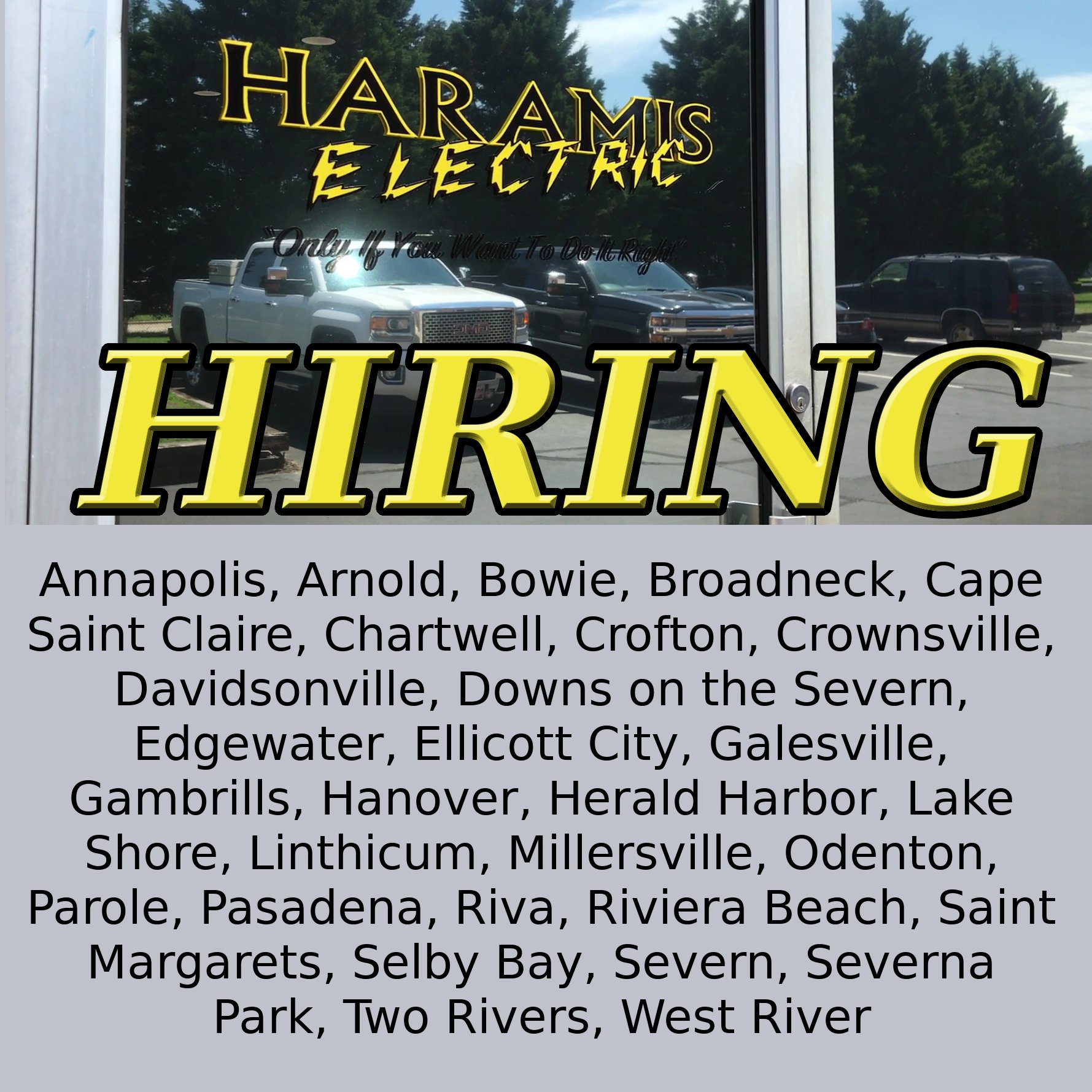 Electrician Jobs Anne Arundel County MD