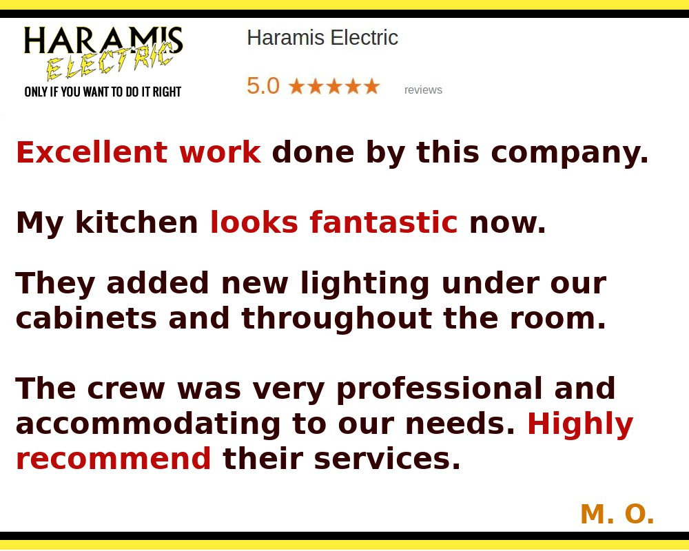 Electrician for Kitchen Remodel
