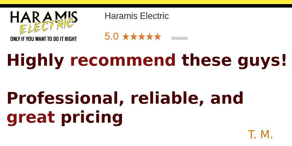 Reviews Electricians Crofton 21114 Haramis Electric