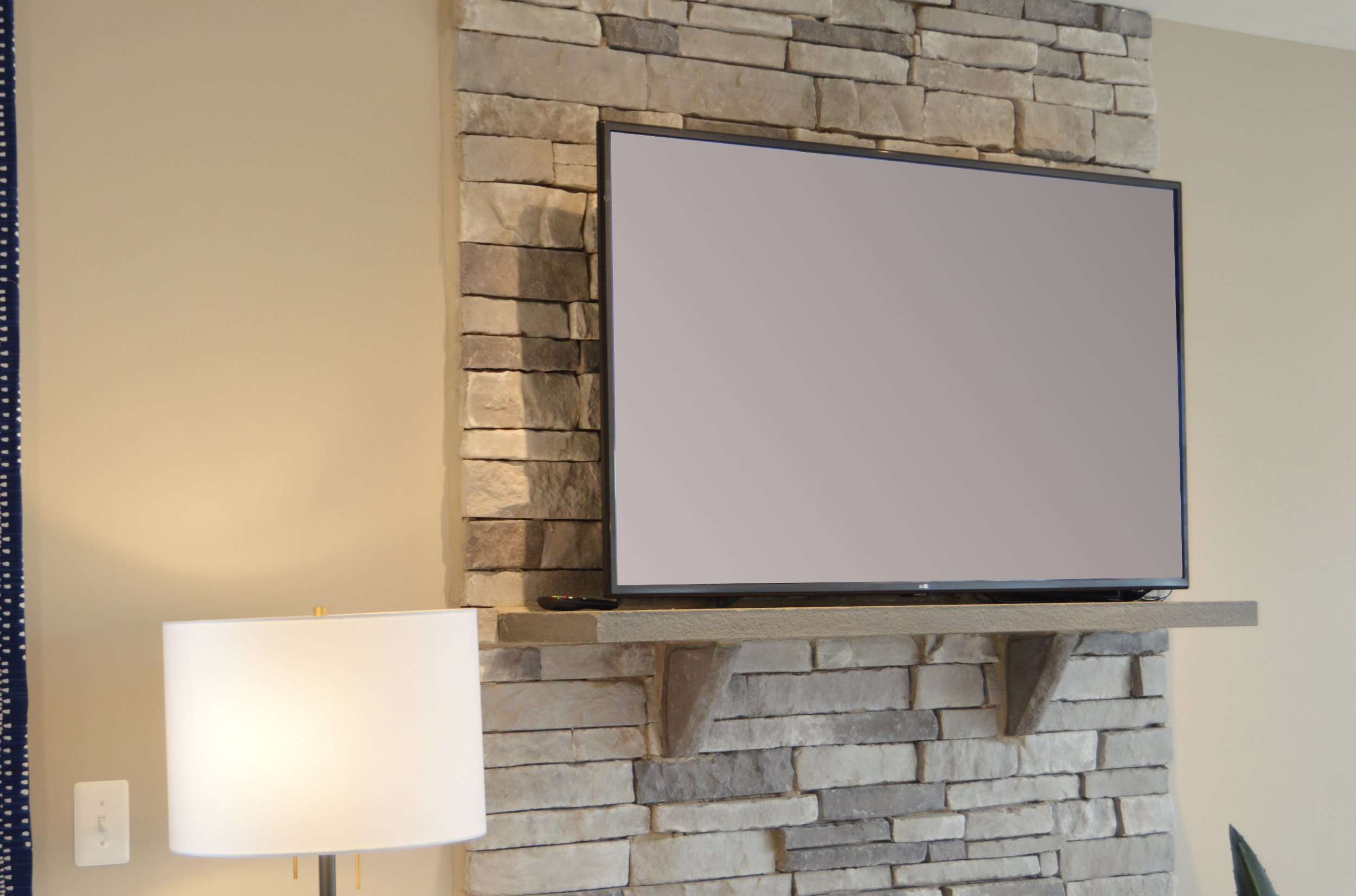 Crofton Electrician Finished Basement TV install