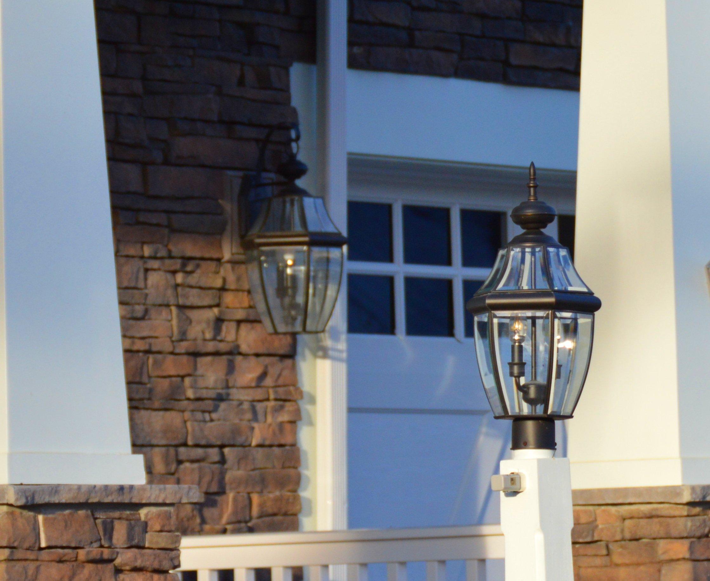 Outdoor pedestal lighting Crofton Electricians